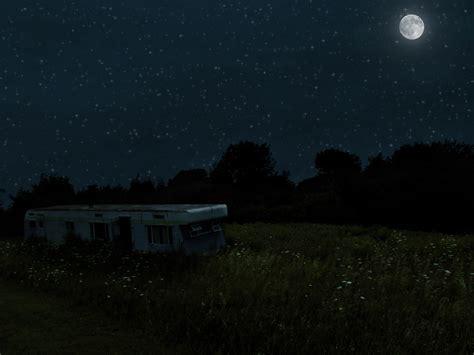 a night at field of light image gallery night field