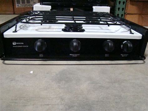 Rv Cooktop Rv Appliances New Old Stock Rv Motorhome Maytag Sealed 3