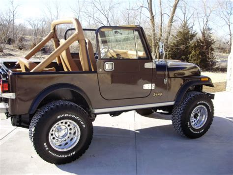 jeep cj golden eagle 1985 jeep cj7 golden eagle for sale in grand island
