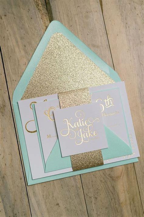 Sparkly Wedding Invitations