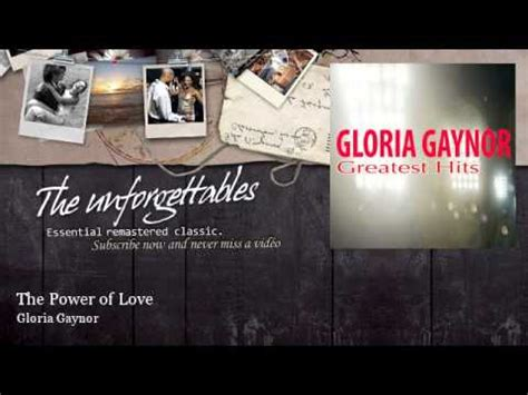 the power of testo e traduzione the power of a in gloria gaynor