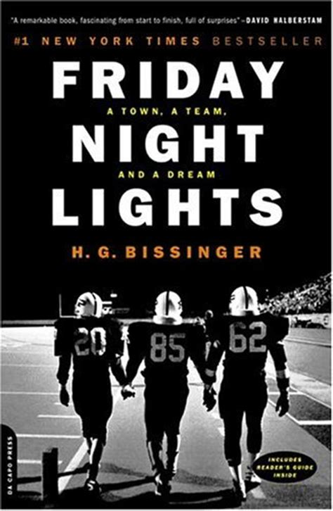 friday lights book report friday lights by h g bissinger book review