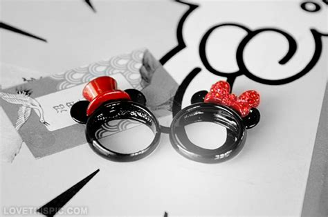 Mickey And Minnie Mouse Rings Pictures, Photos, and Images