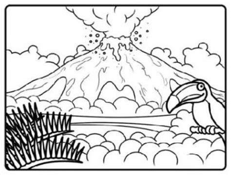 hawaii volcano coloring page vorlagen zum ausmalen malvorlagen vulkan ausmalbilder 2