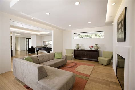family room ceiling lights recessed lighting ideas family room contemporary with area
