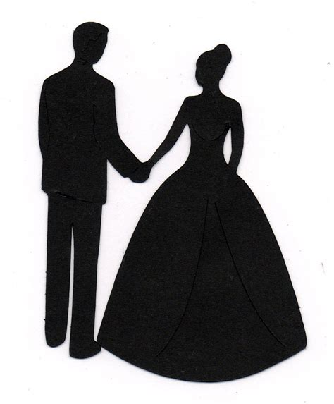 Wedding Silhouette by Wedding Silhouette Clip Cliparts Co