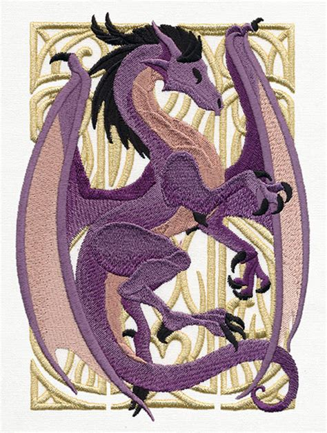 embroidery design dragon dragon nouveau urban threads unique and awesome