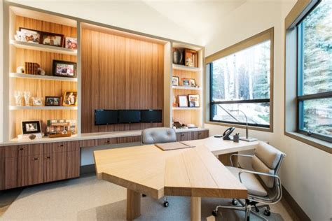 outstanding contemporary home office designs