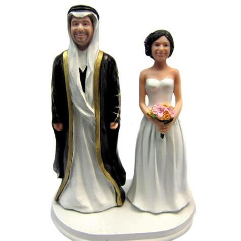 Wedding Cake Origin by Custom Arabic Ethnic Wedding Cake Toppers