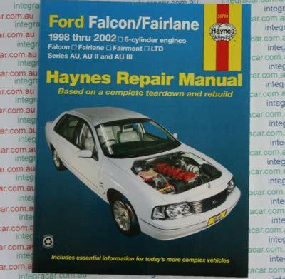 car maintenance manuals 2002 ford f series parental controls ford falcon fairlane au series 1998 2002 haynes service repair manual workshop car manuals