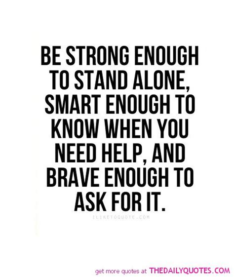 stand strong quote strong enough quotes quotesgram