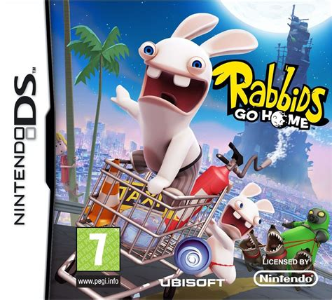 rabbids go home ds review any