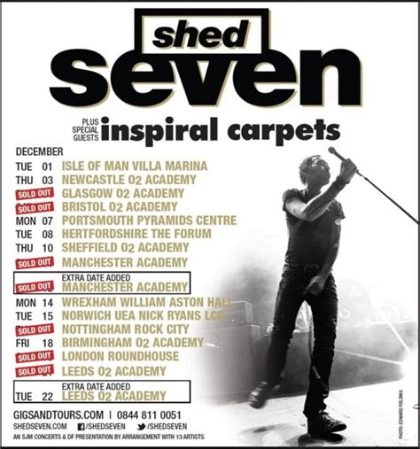 Shed Seven Rock City by Gig Review Shed Seven Welcome To Uk Reviews