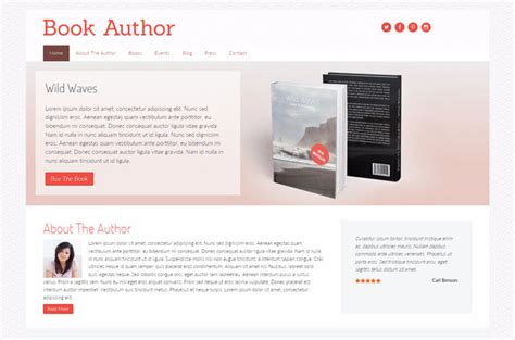 wordpress themes book publishers 17 best book publishers author wordpress themes designyep
