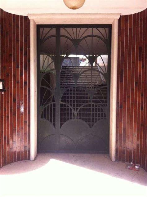 portone ingresso condominio portone condominiale realizzato a roma magifer