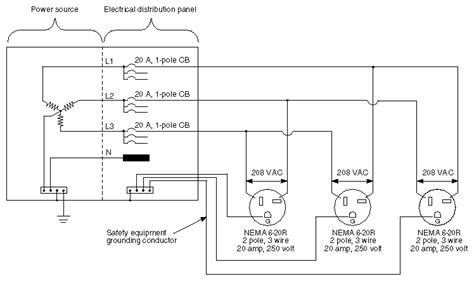 100 208 3 phase wiring diagram get free image about
