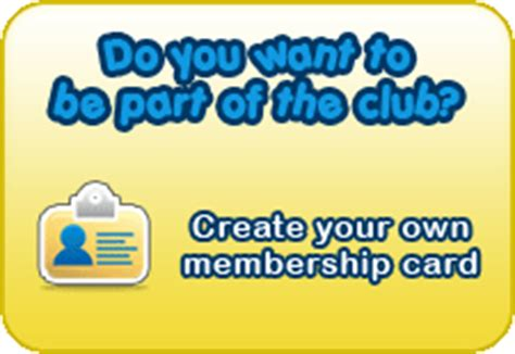 make your own membership cards the culture club clubhouse