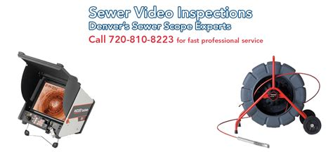 Scope Plumbing by Sewer Scope Denver Denver Sewer Inspection