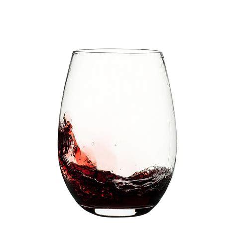 heavy wine glasses franmara unbreakable plastic stemless wine glass 20 oz