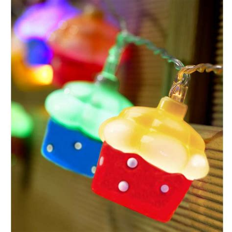 Cupcake String Lights 10 White Led On Sale Fast Delivery Cupcake String Lights