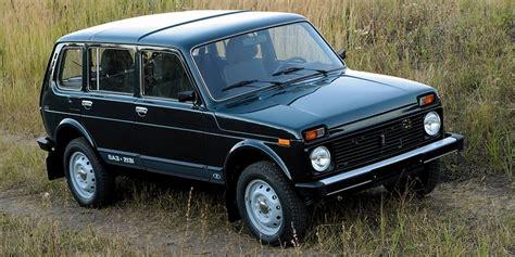 Lada Niva Russia Russian Lada Niva