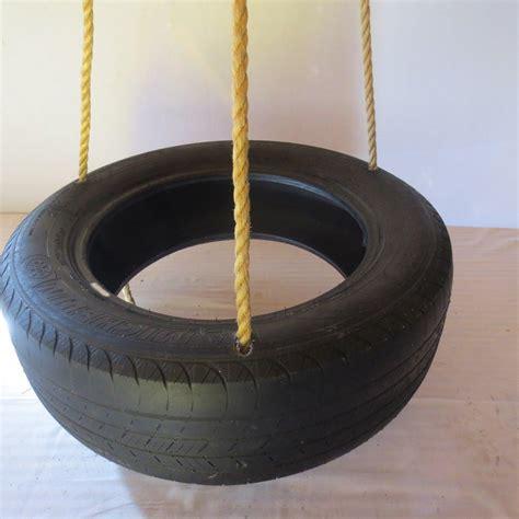 tire swing deluxe spinning 3 rope tire swing wood tree swings