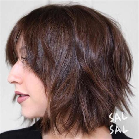 gray long shaggy hairstyles with low undertones for women over 60 40 short shag hairstyles that you simply can t miss