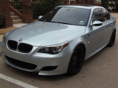 electric power steering 2006 bmw m5 transmission control buy used 2006 bmw m5 sedan 4 door 5 0l v10 racing dynamics customized in plano texas united states