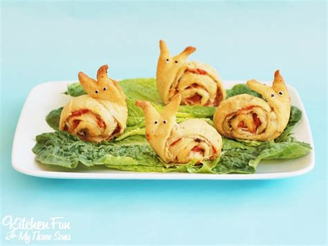 Camping Kitchen Ideas Snail Pesto Pinwheels Appetizer For Kids Kitchen Fun