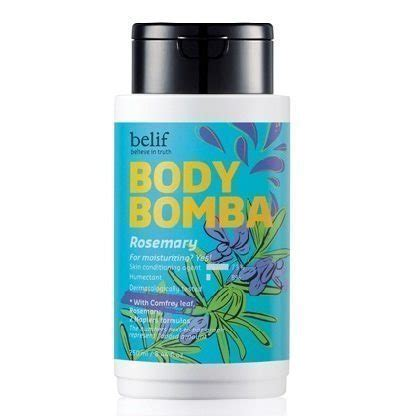 belif bomba rosemary 250ml korean cosmetic and