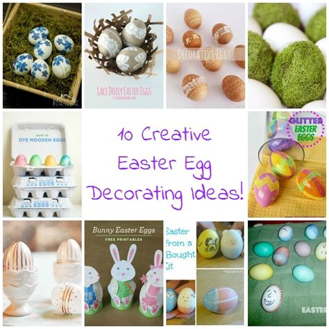 easter egg decorating ideas 10 creative easter egg decorating ideas