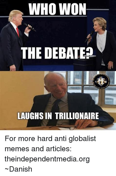 Grammarly Memes - who won the debate laughs in trillionaire for more hard