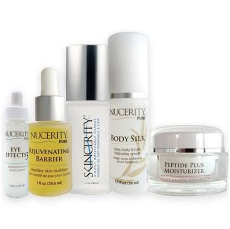 Nucerity Silk our 5 products eye effects 3 rejuvenating barrier skincerity silk peptide plus nucerity