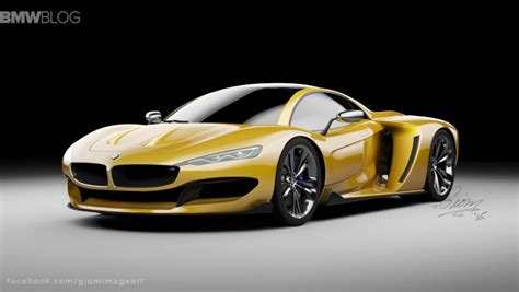 bmw supercar m8 rendering bmw hypercar to compete with mclaren p1 and