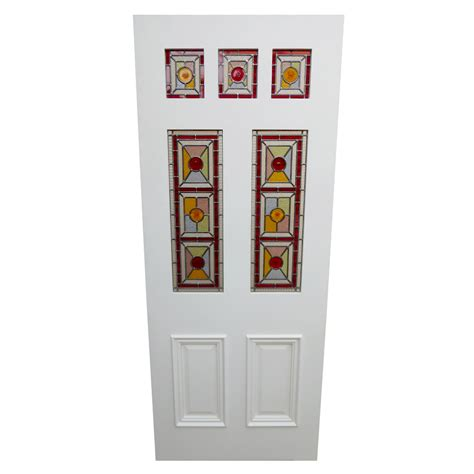 Panel Seven seven panel exterior door from period home style