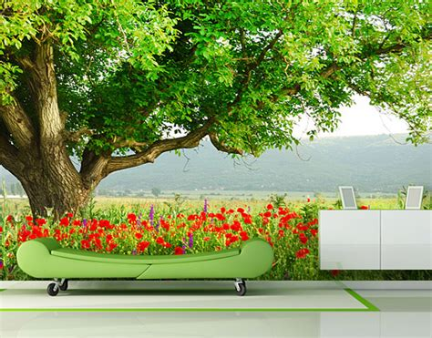a day wall mural photo wall mural a day in my garden 400x280 wallpaper wall