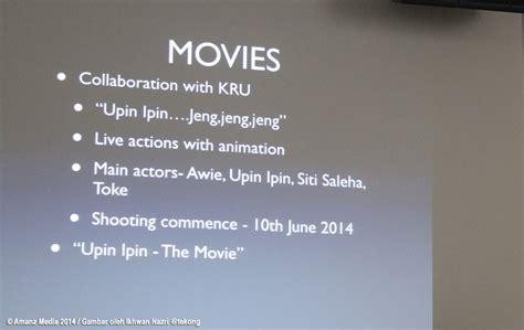 upin ipin the movie les copaque production sdn bhd dua filem upin ipin dalam pembikinan bakal siap 2015