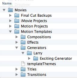 final cut pro quit unexpectedly while using the kgcore plug in fcp x rename or delete custom generators larry jordan