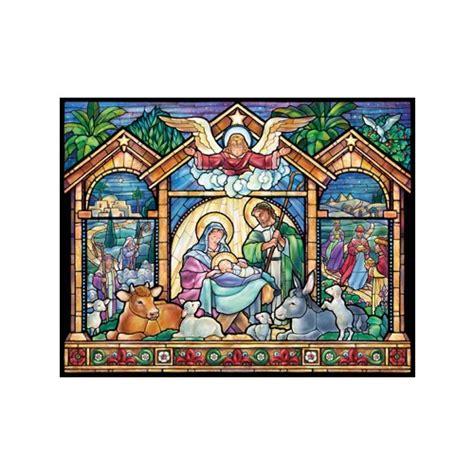 Catholic Advent Calendar Stained Glass Advent Calendar The Catholic Company