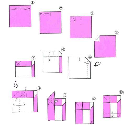How To Make A Paper Santa Sleigh - santa claus in a sleigh origami diagram