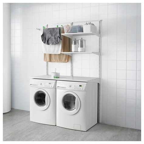 ikea algot shelves algot wall upright shelves drying rack white 132x61x197 cm