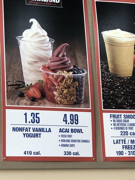 Costco Swirl Frozen Yogurt Nutritional Information ... Arby S Nutritional Information