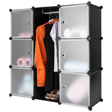 storage for clothes and shoes 9 cube storage organizer shelving closet wardrobe rack for