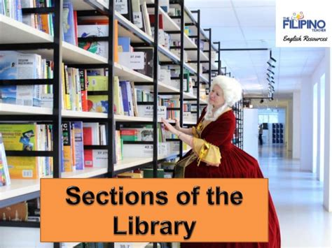sections in the library sections of the library