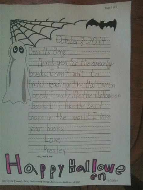 Thank You Letter For Book Donation To Library a thank you letter from a 2nd grader i