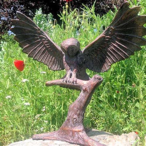 original owl garden ornament bird sculptures