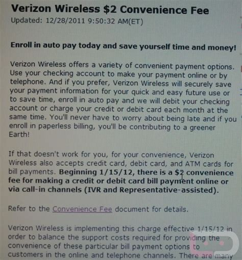 How To Pay Verizon Bill With Gift Card - is verizon joking paying online by phone will soon cost you an extra 2 techcrunch