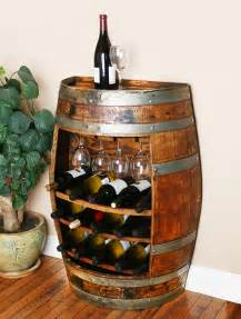 wine barrel wine rack cabinet wouldn t this look great in your home wine barrel furniture