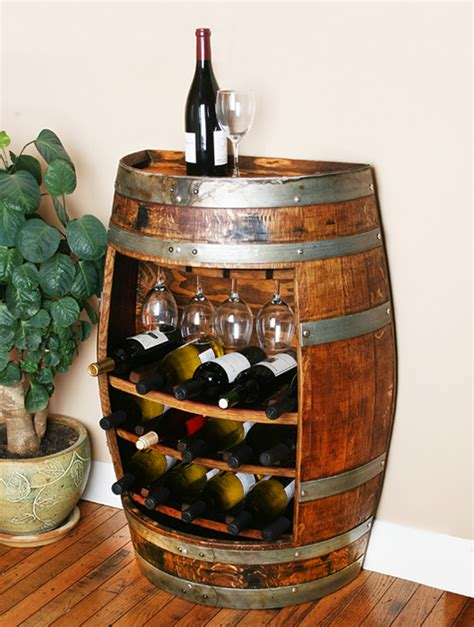 Shelf Of Wine Unopened by Wine Barrel Wine Rack Cabinet Wouldn T This Look Great