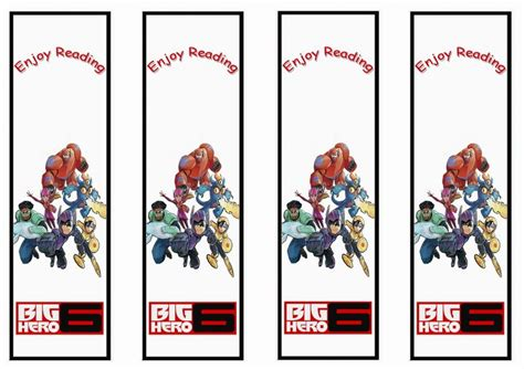 printable bookmarks for volunteers bookmarks printable bookmarks and big hero 6 on pinterest